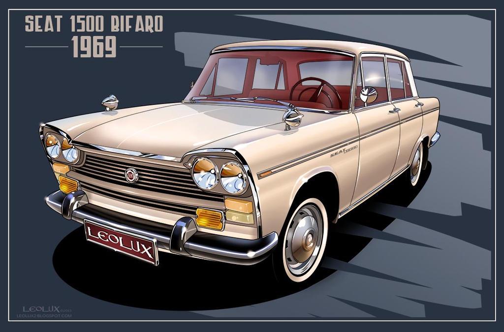 Seat 1500 Bifaro (1969 model)