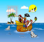 Barco Pirata | Pirate Ship