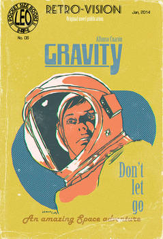 Gravity, The Pulp Cover