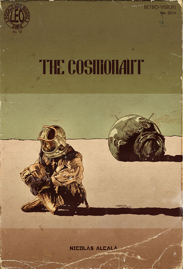 The Cosmonaut, The Pulp Cover