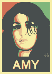Amy Winehouse by LeoluxArt