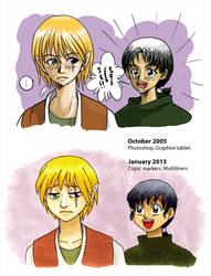 Before and After - 'Mikun and Kiban'