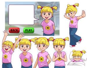 Video Game Dev Class -- Little Girl