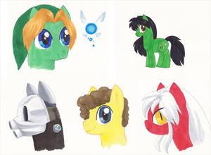 ToshoCon 2013 Pony Commissions