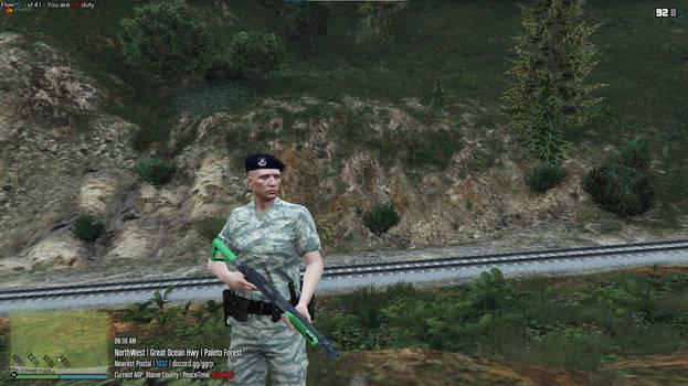 GTA 5 female MP