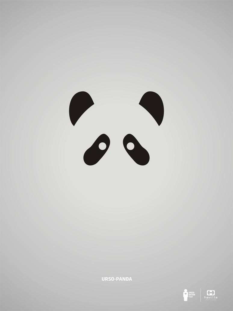Minimalista panda by davimenezes on deviantart for Minimalista definicion