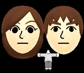 Miitomo - Male and Female Mii (Default)