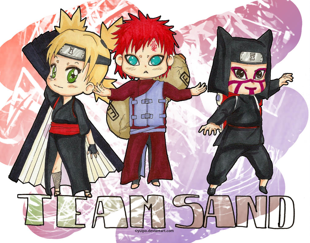 chibi team sand by yuipo