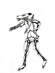 Battle armor by officercat11
