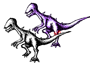 dino pixel sketch by pixelnova