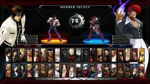 KOFXIII Mugen Complete Select Screen