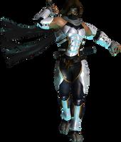 Hayate future ninja by EnlightendShadow