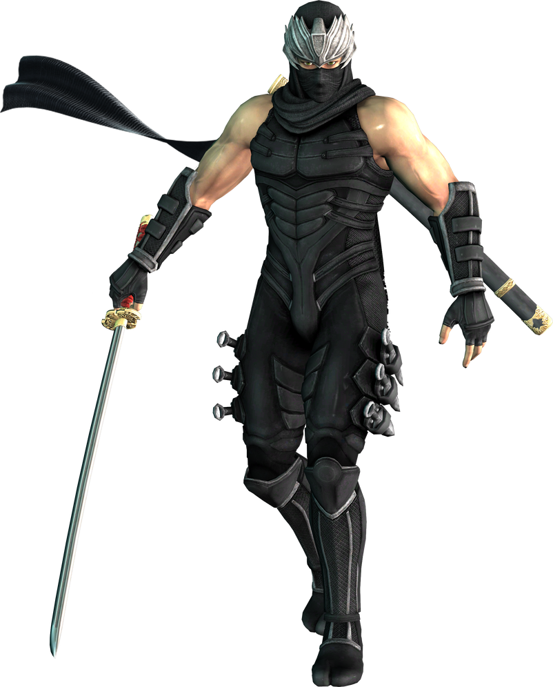 Warriors Orochi 3 Ultimate Ryu Hayabusa: Ryu Hayabusa WO3 Black Falcon By EnlightendShadow On