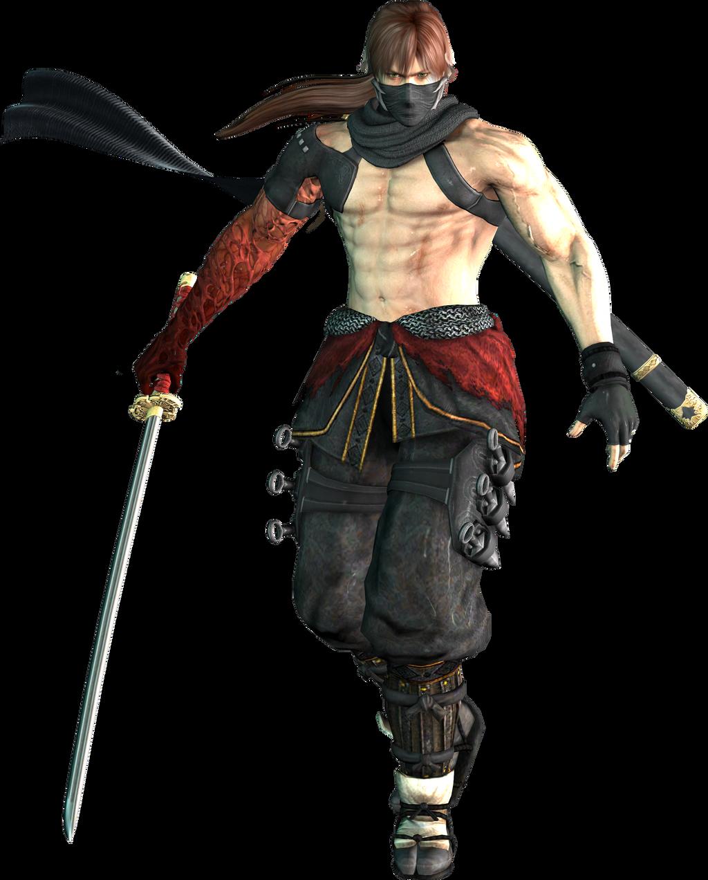 Warriors Orochi 3 Ultimate Kasumi: Ryu Hayabusa WO3 True Fighter Custom By EnlightendShadow