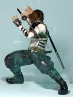 Hayate - 18th Leader of the Tenshin Mugen Clan