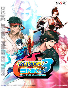 Capcom VS SNK 3 cover
