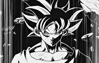 Goku Negative