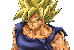 Goku Super Saiyan - Close up Ver 01