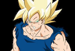 Goku Super Saiyan - Close up Ver 02