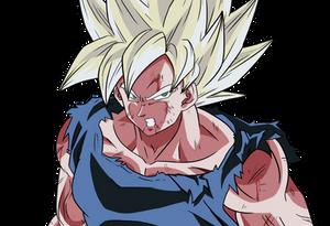 Goku Super Saiyan - Close up Ver 03