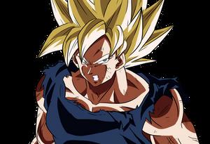 Goku Super Saiyan - Close up Ver 04