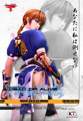 Dead Or Alive Arcade Kasumi Poster Ver 2021