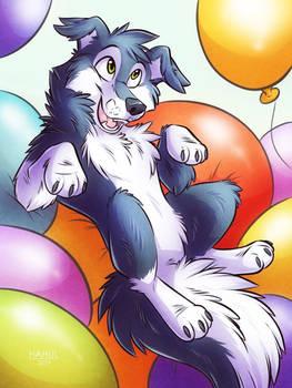 A ballon bath of joy