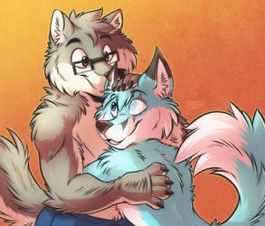 Fluffy Hug