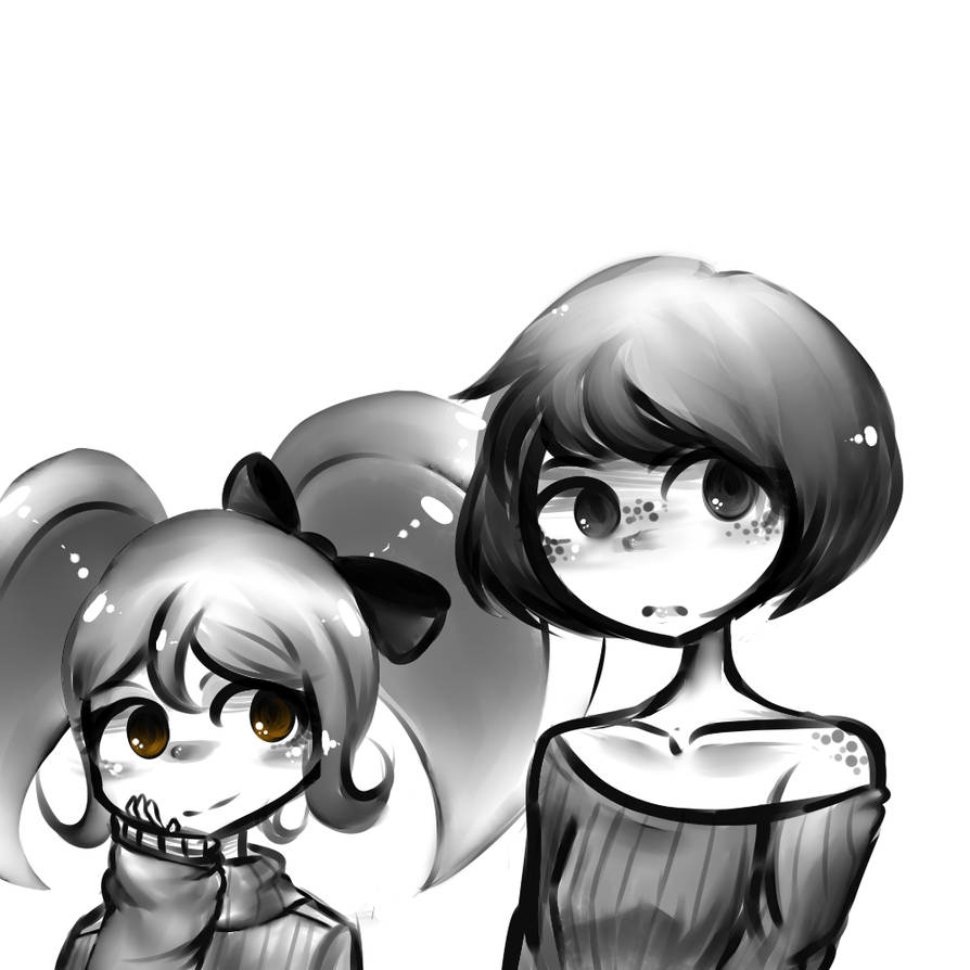 Almost entirely black and white wow by avatar mabel
