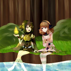 delthea and genny