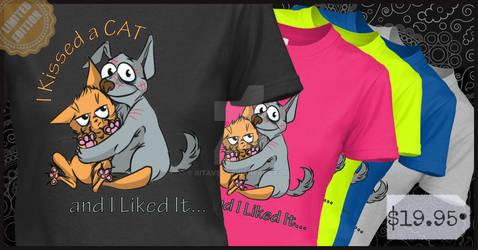 I-kissed-a-cat-custom-t-shir-1435891380493