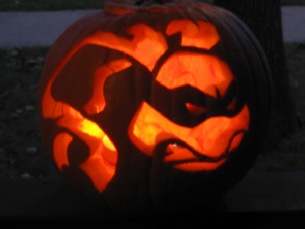 Ninja Turtle Pumpkin by StephieT