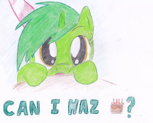 Can I haz cake? by steadygait
