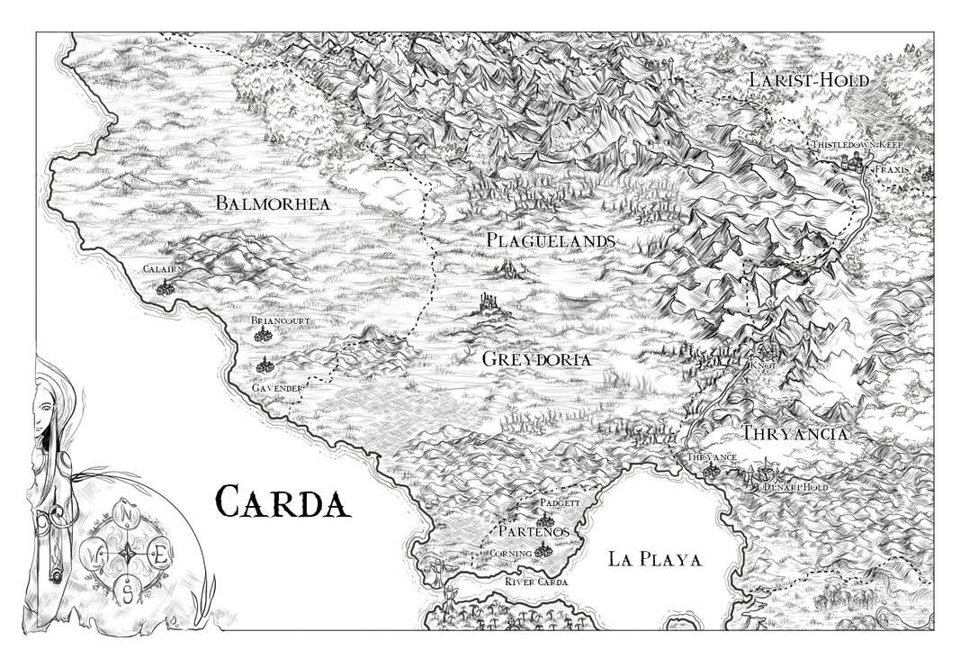 Carda map