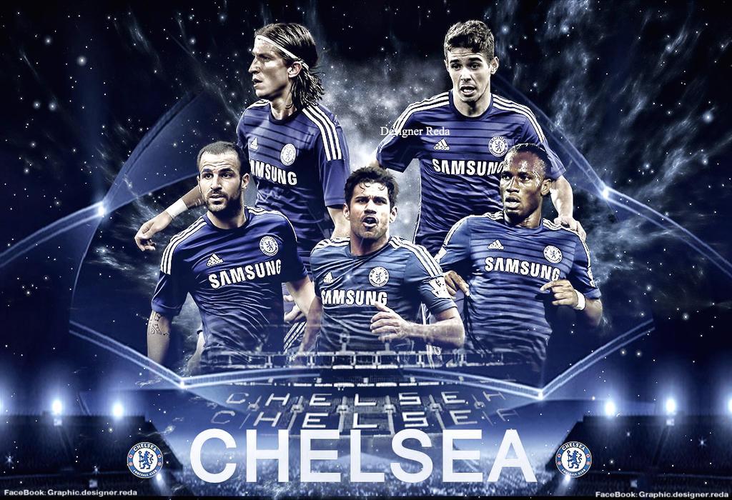 Chelsea Football Club -UEFA Champions League by redagfxx ...