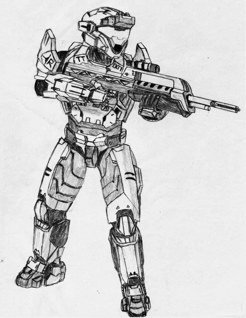 Marksman Spartan by Sacrafire