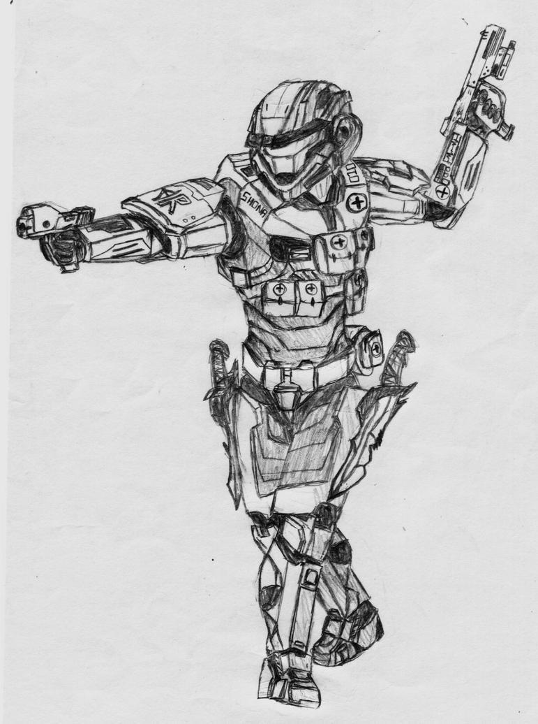 Medic Spartan by Sacrafire