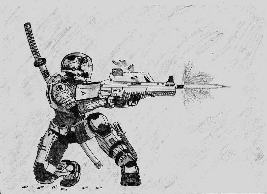 Commando Spartan by Sacrafire