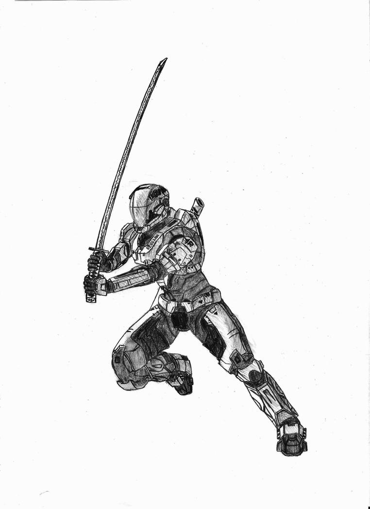 Commando Spartan Nodachi by Sacrafire