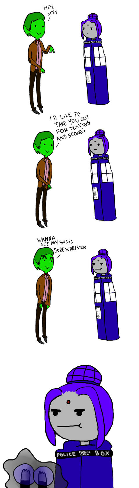 The Doctor and The RAEDIS by iggypeetaluna