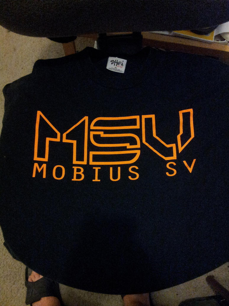 My Mobius SV shirt! by GamaGT