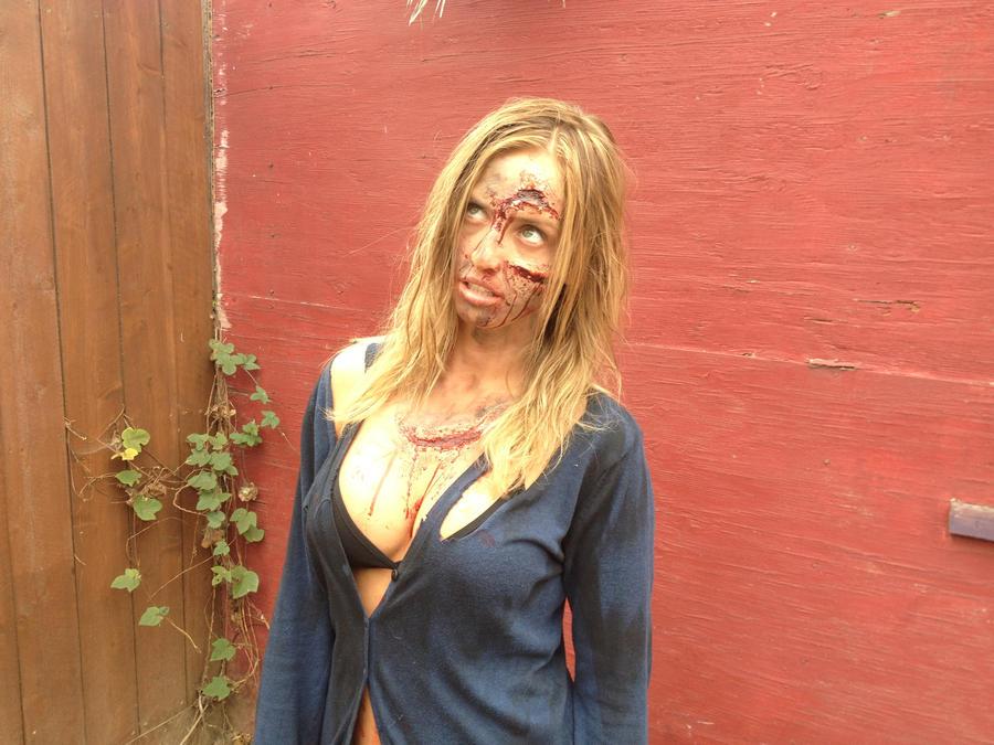 Sexy Zombie 1 by thefxfox