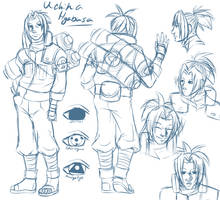 Character Concept: HYABUSA by Syrae-Universe