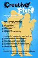 Creative Pixel Poster