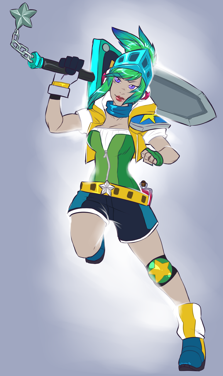 (Personal) Arcade Riven by Syrae-Universe