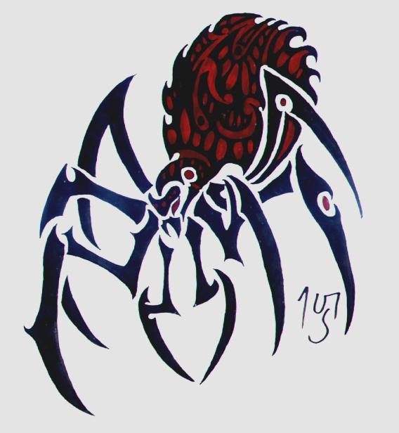 Tribal Spider by Sakashima on DeviantArt