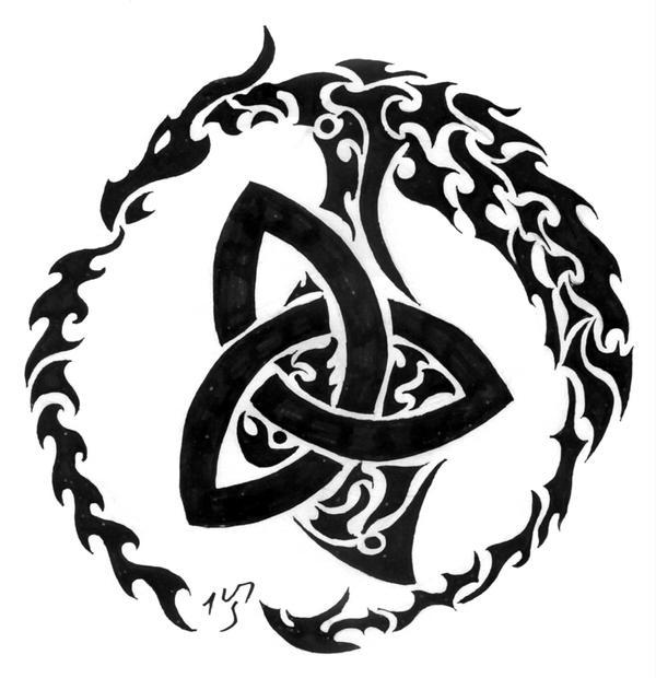 celtic dragon ii by sakashima on deviantart. Black Bedroom Furniture Sets. Home Design Ideas