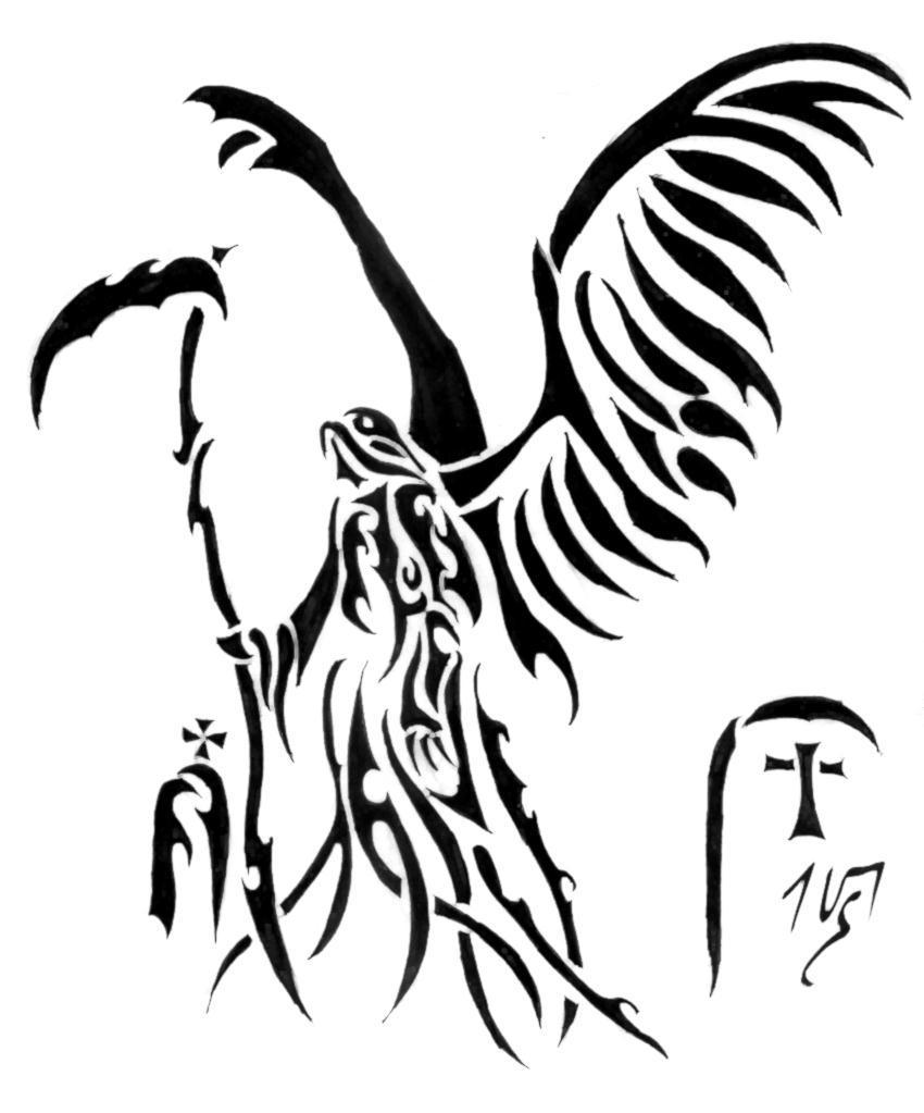 Tribal Death Tattoo: Tribal Series XXVIII By Sakashima On DeviantArt
