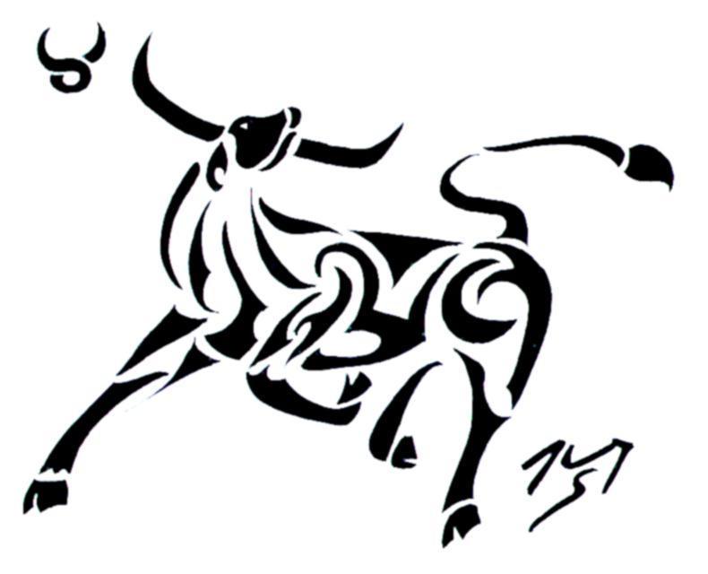 Tribal Zodiac Cancer Tattoo tribal zodiac II Taurus by