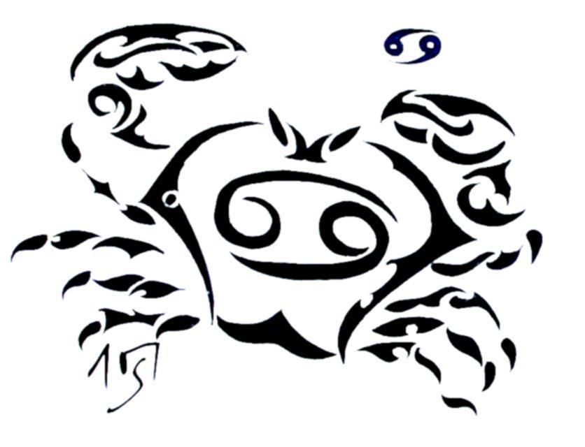 tribal zodiac iv cancer by sakashima on deviantart